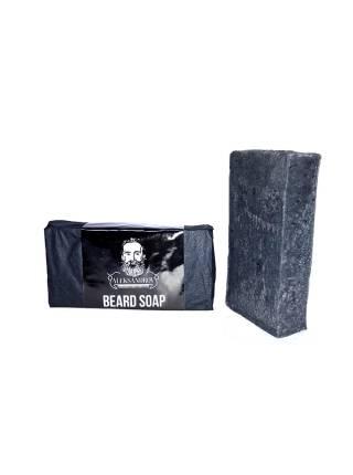 Черное мыло для бороды от ALEKSANDROV