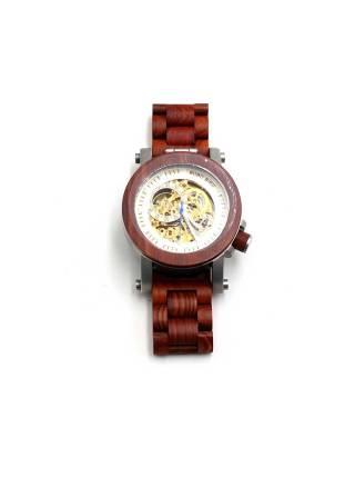 Часы наручные деревянные Hommer Wood Brown от BOBO BIRD