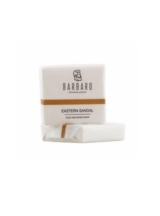 Матирующее мыло для лица и бороды Barbaro Eastern sandal