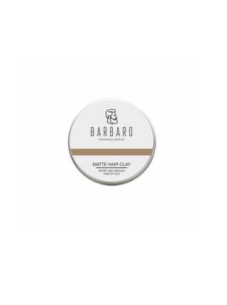 Матовая глина для укладки волос Barbaro, 60 гр