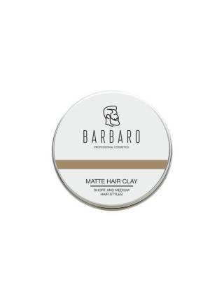 Матовая глина для укладки волос Barbaro, 100 гр