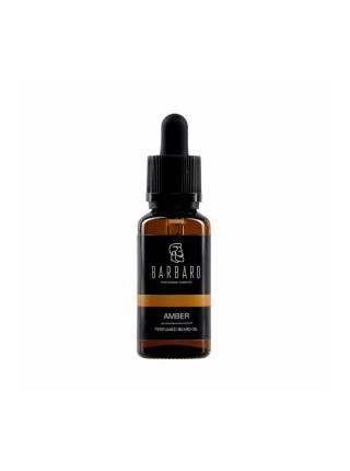Парфюмированное масло для бороды Barbaro Amber, 30 мл