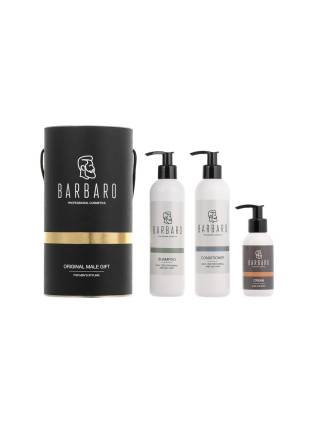 Подарочный набор для мужчин BARBARO HAIR and HAND