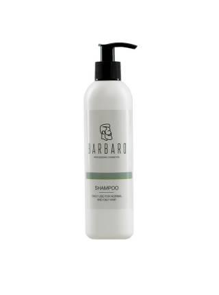 Шампунь для нормальных и жирных волос Barbaro, 220 мл
