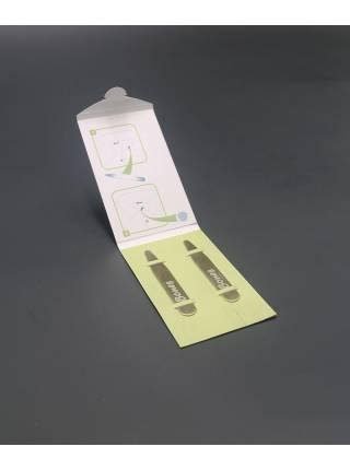 Косточки (вставки) для воротника рубашки латунь