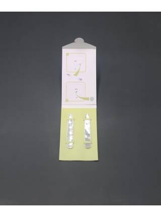 Косточки (вставки) для воротника рубашки перламутровые