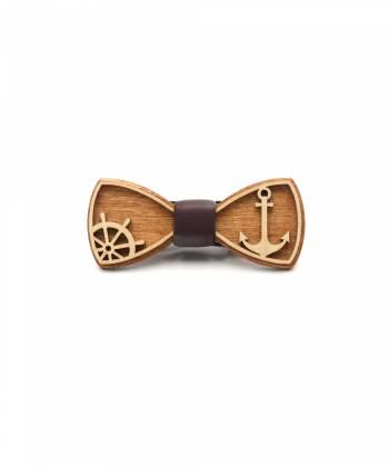 Деревянный галстук-бабочка Farfalla-rus Anchor