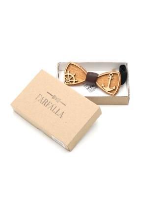 Деревянный галстук-бабочка Anchor