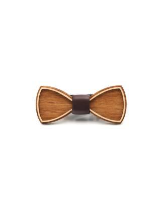 Деревянный галстук-бабочка Classic