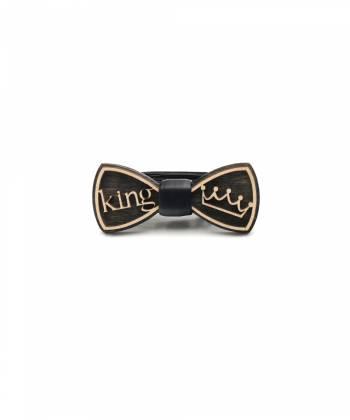 Деревянный галстук-бабочка детская Farfalla-rus King