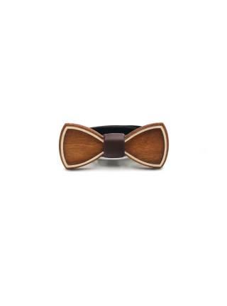 Деревянный галстук-бабочка детская Классика