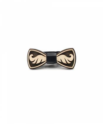 Деревянный галстук-бабочка детская Farfalla-rus Усы