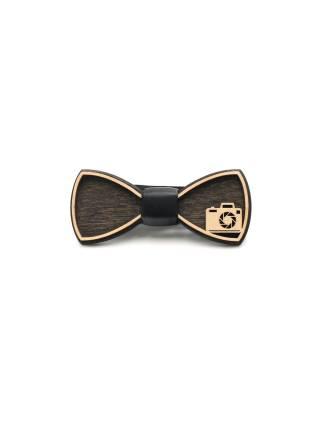 Деревянный галстук-бабочка Фото