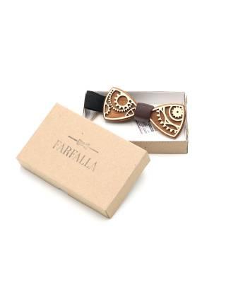 Деревянный галстук-бабочка Gear