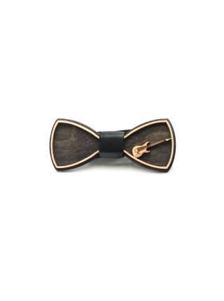 Деревянный галстук-бабочка Гитара