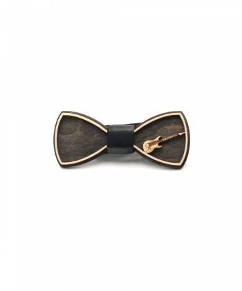 Деревянный галстук-бабочка Farfalla-rus Гитара