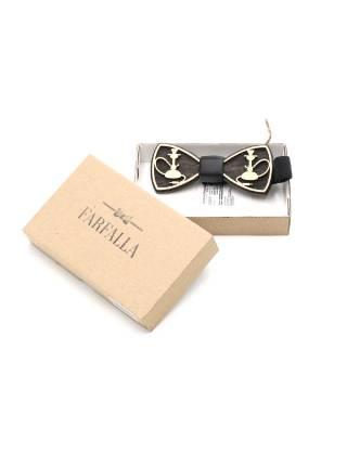 Деревянный галстук-бабочка Кальян