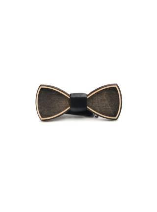 Деревянный галстук-бабочка Классическая
