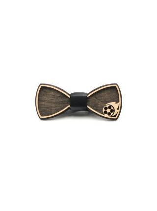 Деревянный галстук-бабочка Мяч