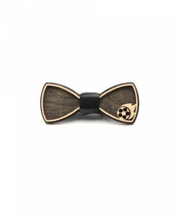 Деревянный галстук-бабочка Farfalla-rus Мяч
