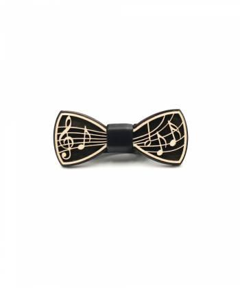 Деревянный галстук-бабочка Farfalla-rus Ноты