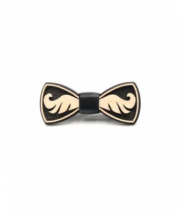 Деревянный галстук-бабочка Farfalla-rus Усы