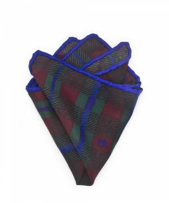 Нагрудный платок из тонкой шерсти с узором в клетку Шекспир
