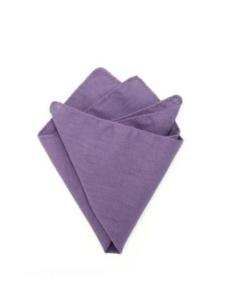 Платок-паше Фиолетовый Лен