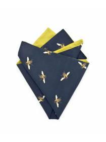 Платок-паше из хлопка с узором Пчелки