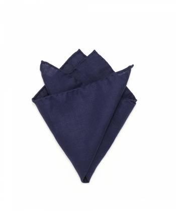 Платок-паше синий из льна