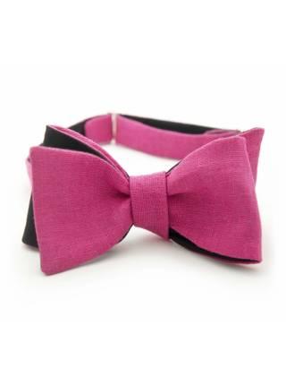Подарочный набор галстук-бабочка с нагрудным платком и запонками Розовая Пантера