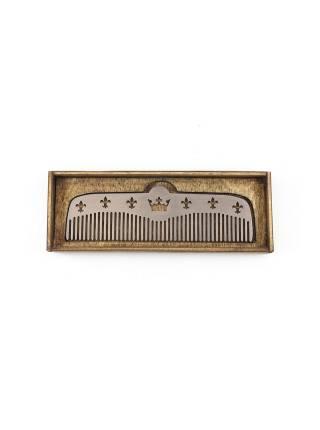 Расческа для бороды из стали Royal Lilia