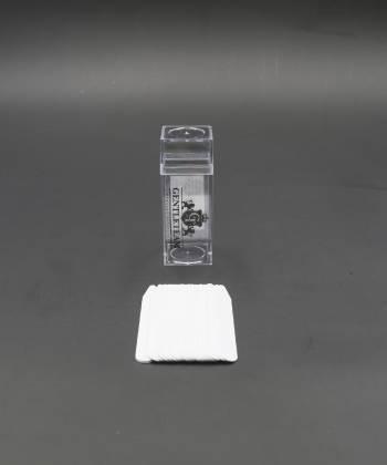 Косточки (вставки) для воротника рубашки из пластика, 7,5 см