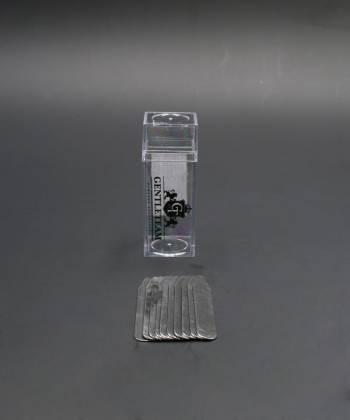Косточки (вставки) для воротника рубашки из стали, 7 см