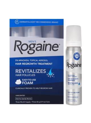 Rogaine / Рогаин миноксидил 5% пена (курс 3 месяца)