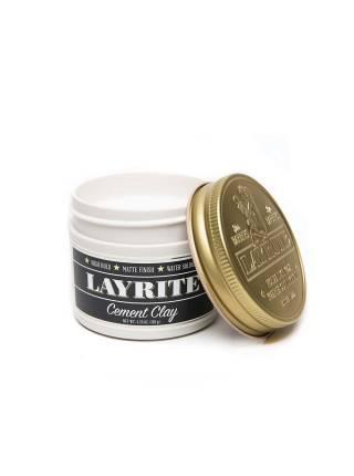 LAYRITE Cement Clay, Матовая глина сильной фиксации, 120 гр.