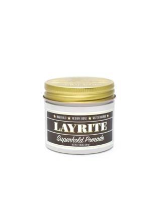 LAYRITE Superhold Pomade, Помада сверхсильной фиксации для укладки волос, 120 гр.