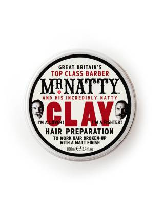 Mr. Natty Clay Hair Preparation, глина для волос, 100 мл