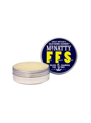 Mr. Natty Face Forest Soap, шампунь для бороды, 80 гр