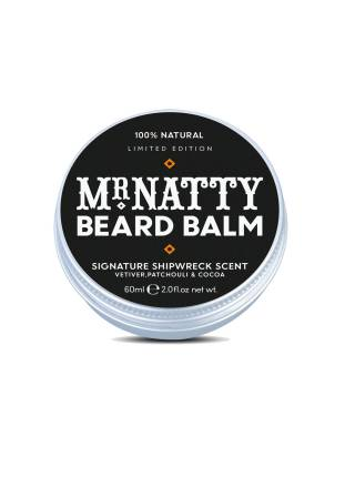 Mr. Natty Limited Edition Beard Balm, бальзам для бороды, 60 мл.