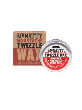Mr. Natty Moustache Twizzle Wax, воск для закручивания усов, 10 гр.