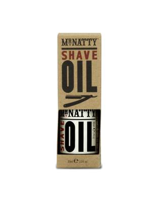 Mr. Natty Shave Oil, масло для бритья, 30 мл