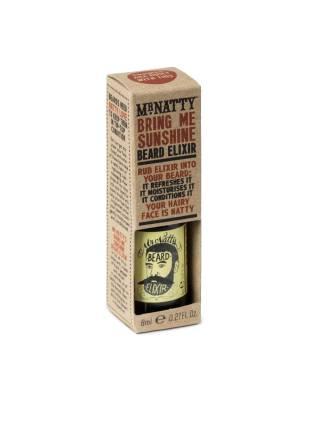 Mr. Natty Silver Bring Me Sunshine Frank Beard Elixir, эликсир для бороды, 8 мл.