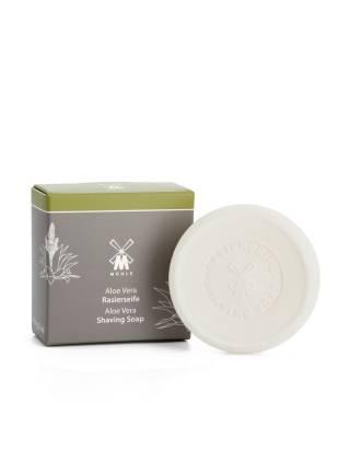 Твердое мыло для бритья MUEHLE, Алоэ Вера, 65 гр