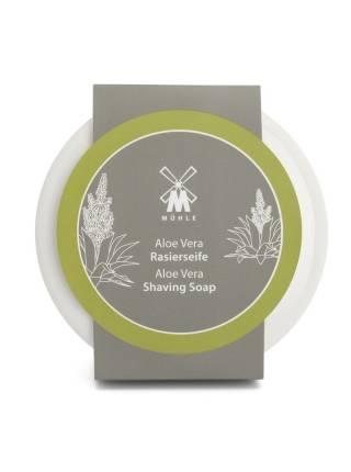 Твердое мыло для бритья MUEHLE в фарфоровой чаше, Алоэ Вера, 65 гр