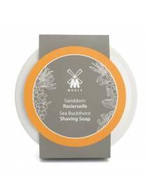 Твердое мыло для бритья MUEHLE в фарфоровой чаше, Облепиха, 65 гр