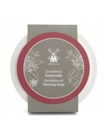 Твердое мыло для бритья MUEHLE в фарфоровой чаше, Сандал, 65 гр
