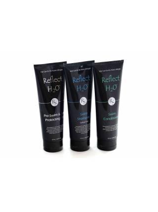 REFLECT SPORTS H2O, Набор средств для ухода за волосами до и после плавания, 236 мл.