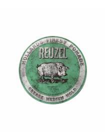 REUZEL Green Medium Hold Grease, помада средней фиксации, 340 гр