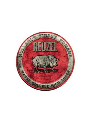 REUZEL Red High Sheen Pomade, помада с эффектом мокрых волос, 340 гр.